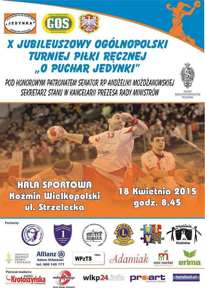 Plakat piłka ręczna 2015