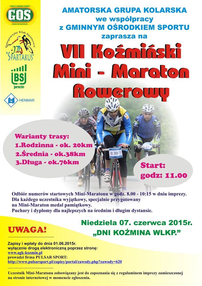plakat VII KMMRowerowy