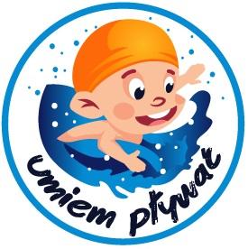 Umiem pływać - logo