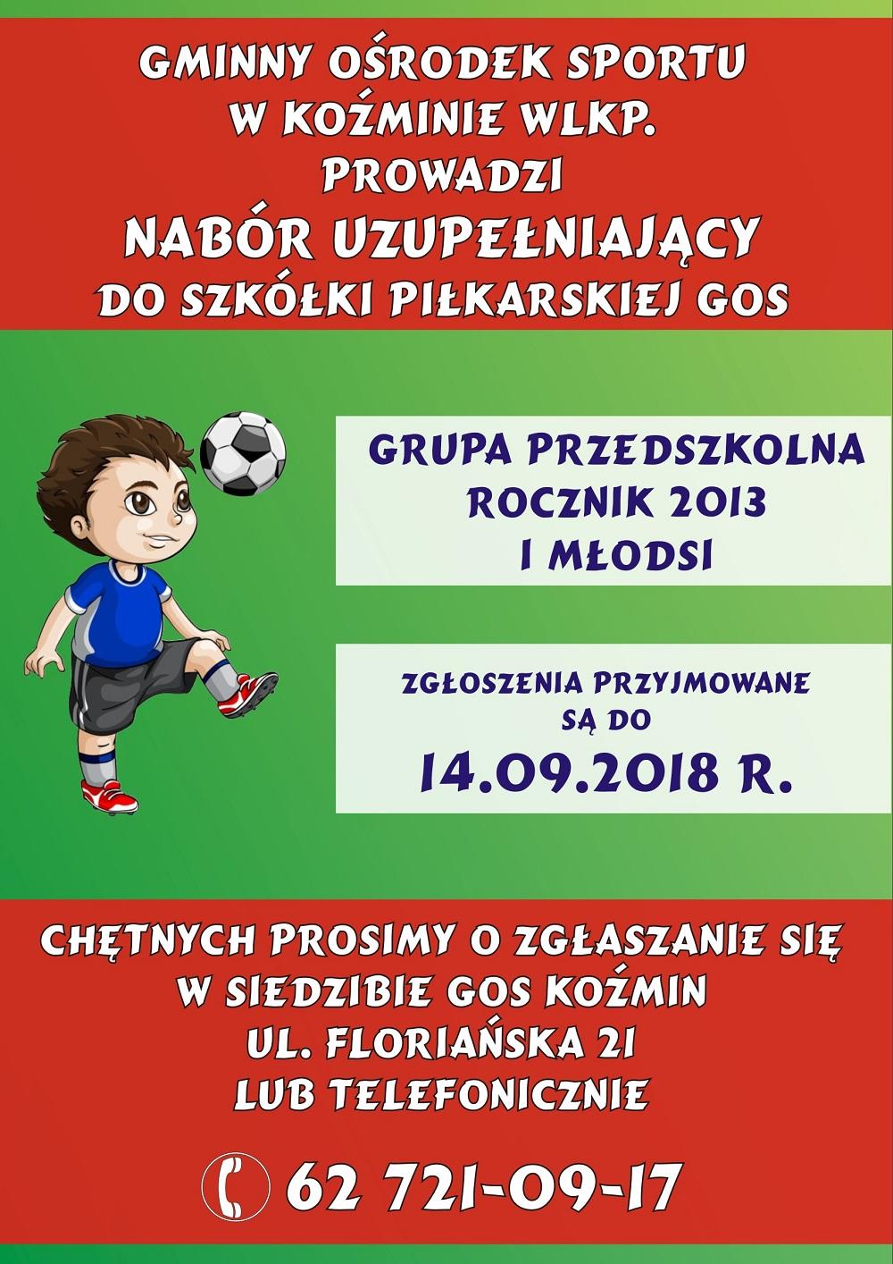 plakat przedszkole