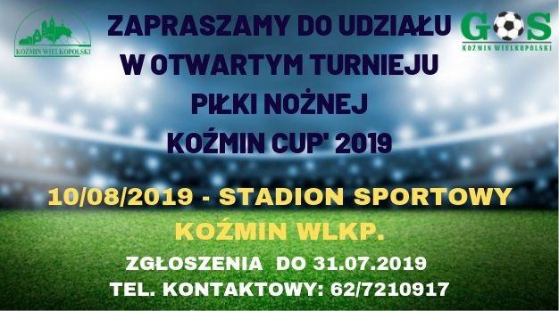 FACE KOŹMIN CUP 2019